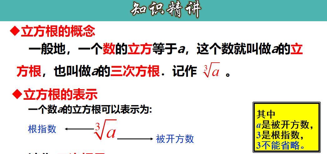 6.2 立方根-七年级数学下册教材配套教学课件(人教版)
